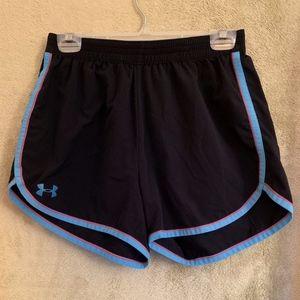Black UnderArmour Shorts (kids size)